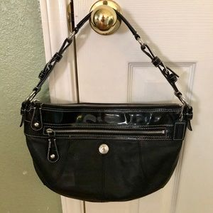 Gorgeous Black Coach Hobo Bag